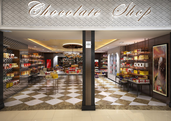 The Chocolate Shop - O.R. Tambo International Airport