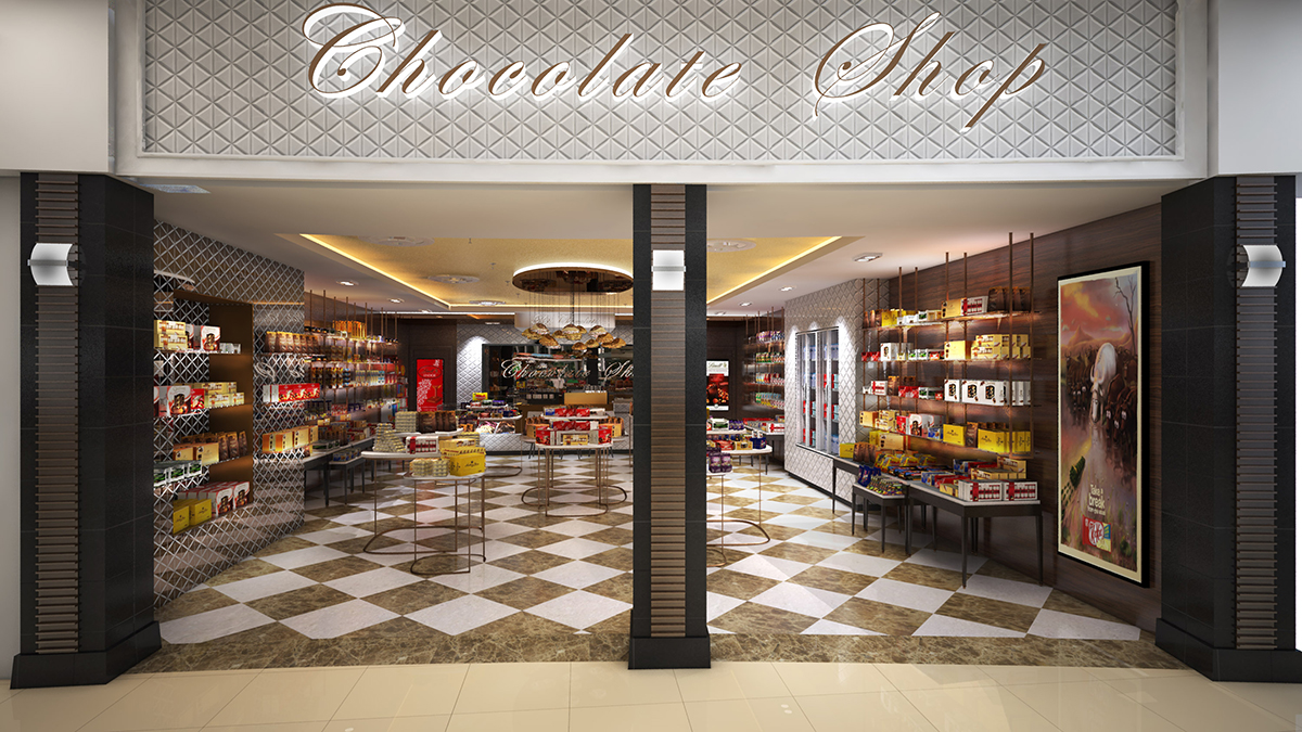 The Chocolate Shop Dakota Design Retail Solutions