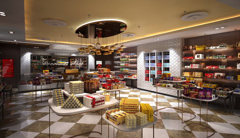 The Chocolate Shop : Dakota Design Retail Solutions