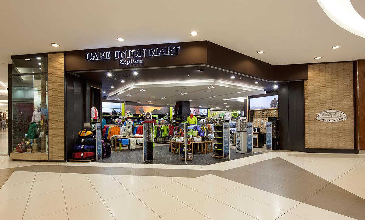 Cape Union Mart Flagship Design Rollout Dakota Retail