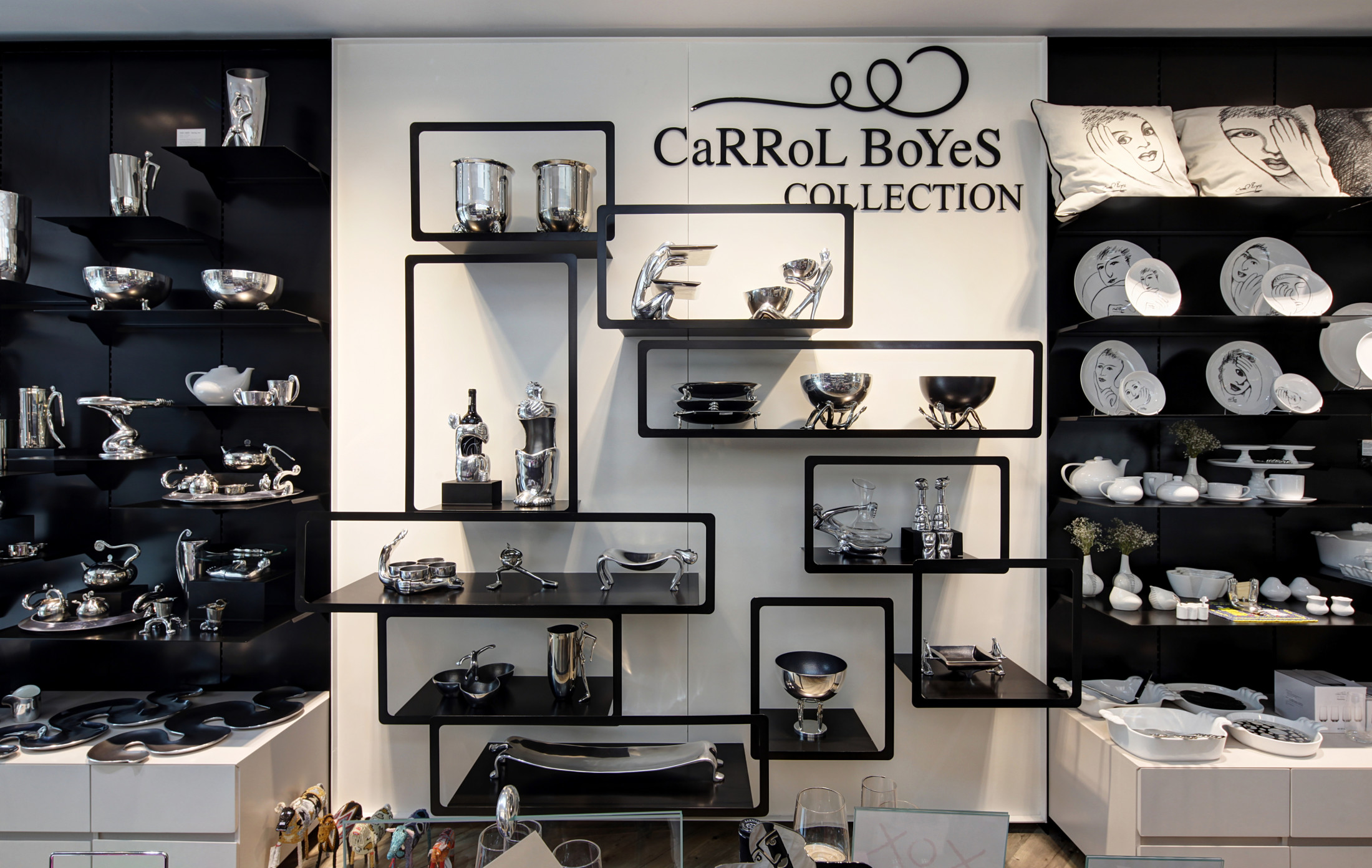 carrol boyes flagship store by dakota design